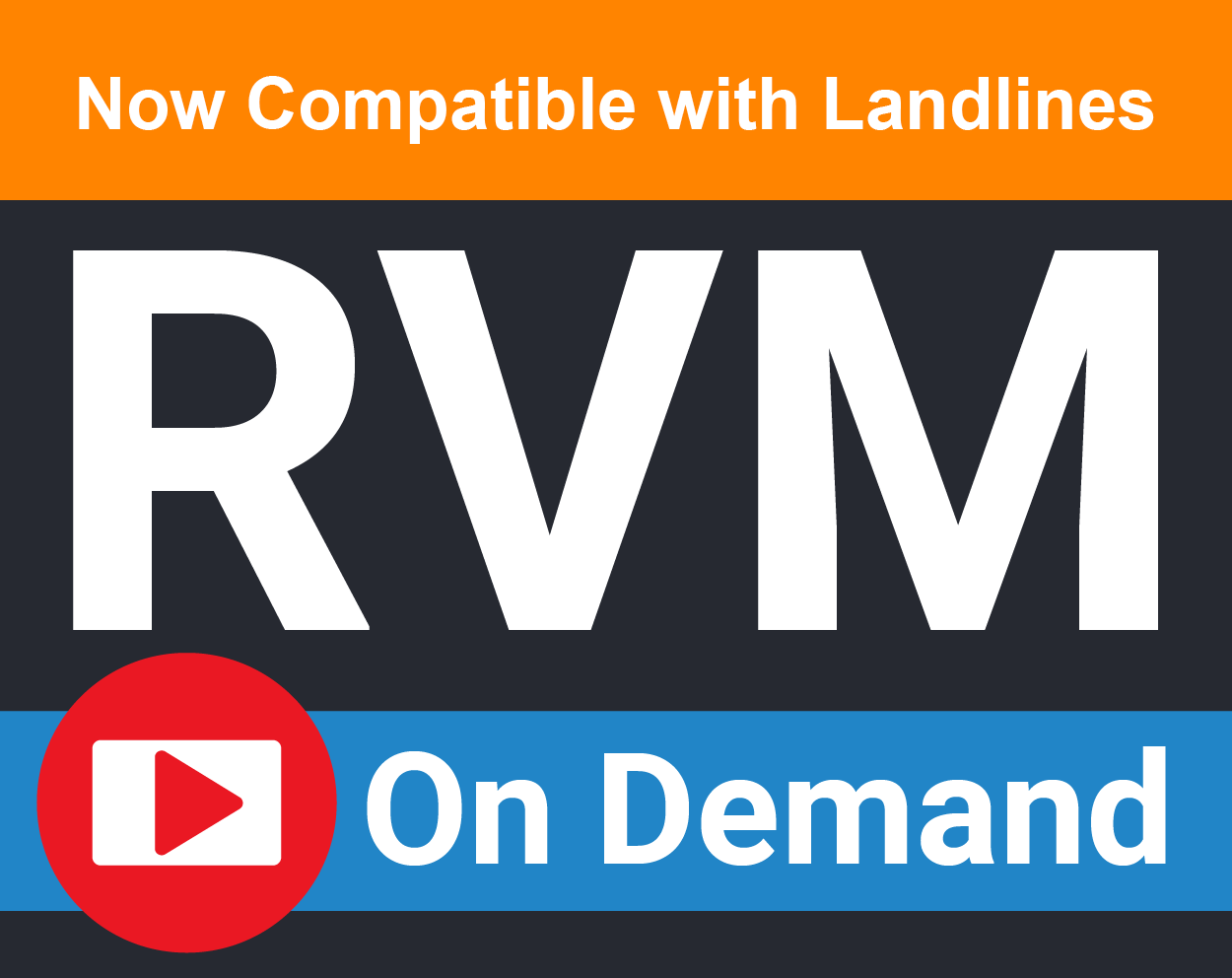 RVM On-Demand for both Landlines and Mobile Phones!