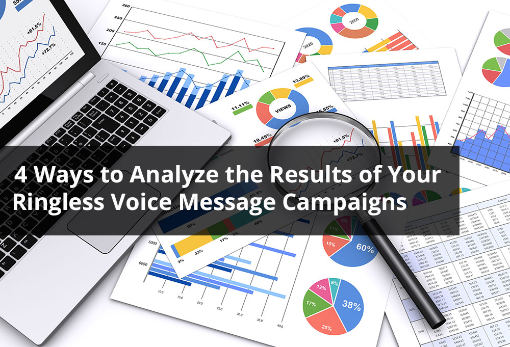 4 Ways to Analyze the Results of Your Ringless Voice Message Campaigns